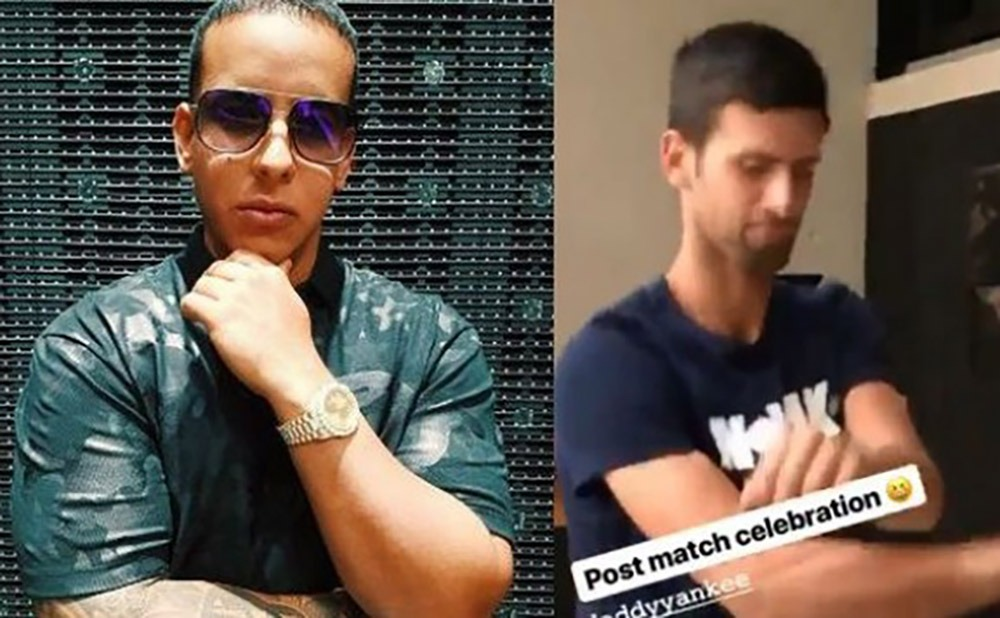 Daddy-Yankee_Novak-Djokovic_-Dura