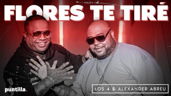 Los 4, Alexander Abreu - Flores Te Tiré